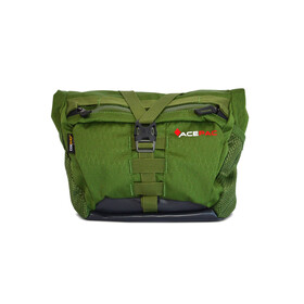 Acepac Bar Bag Borsello verde/nero